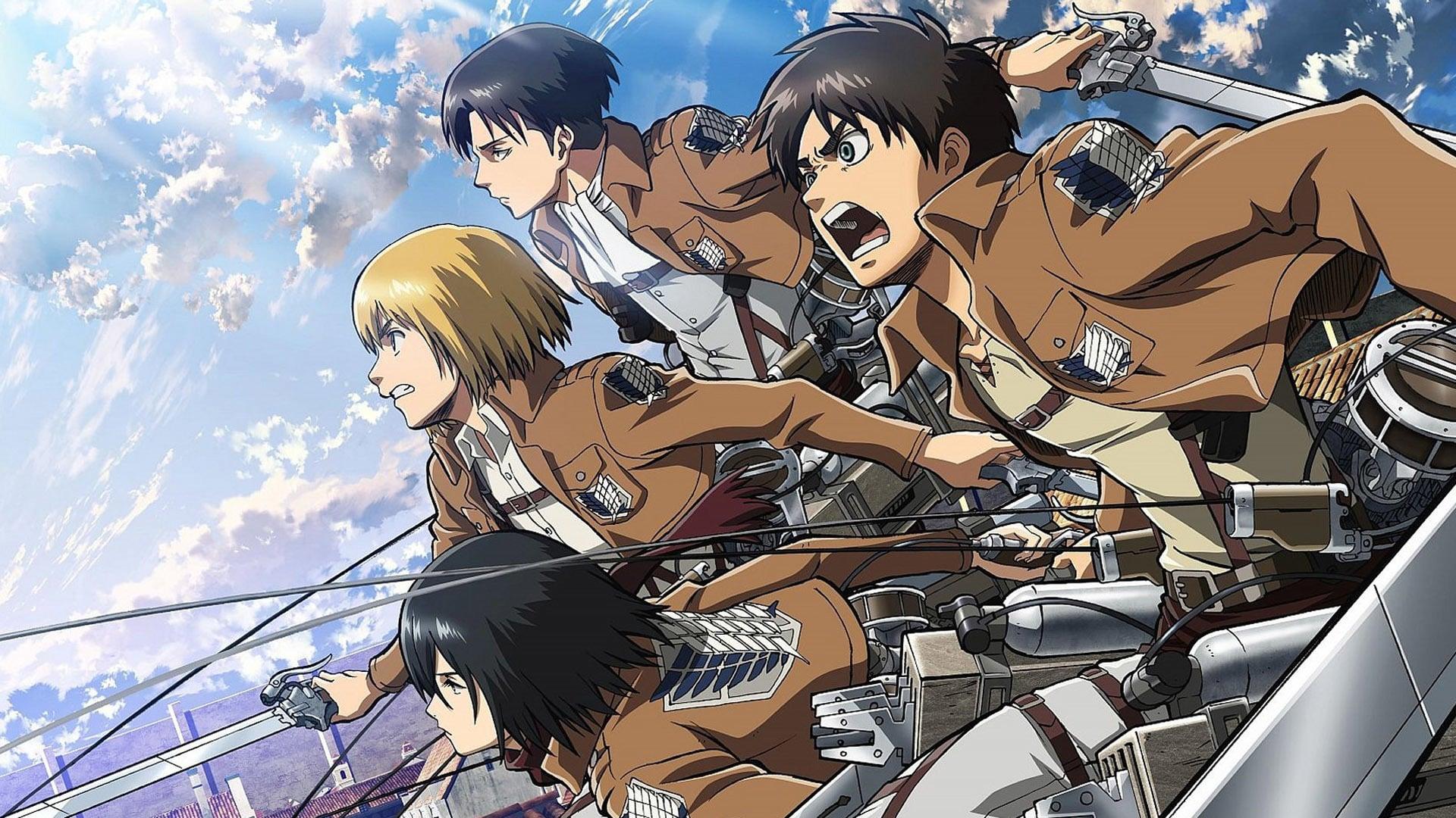 Shingeki no kyojin - Attack on Titan Season 1